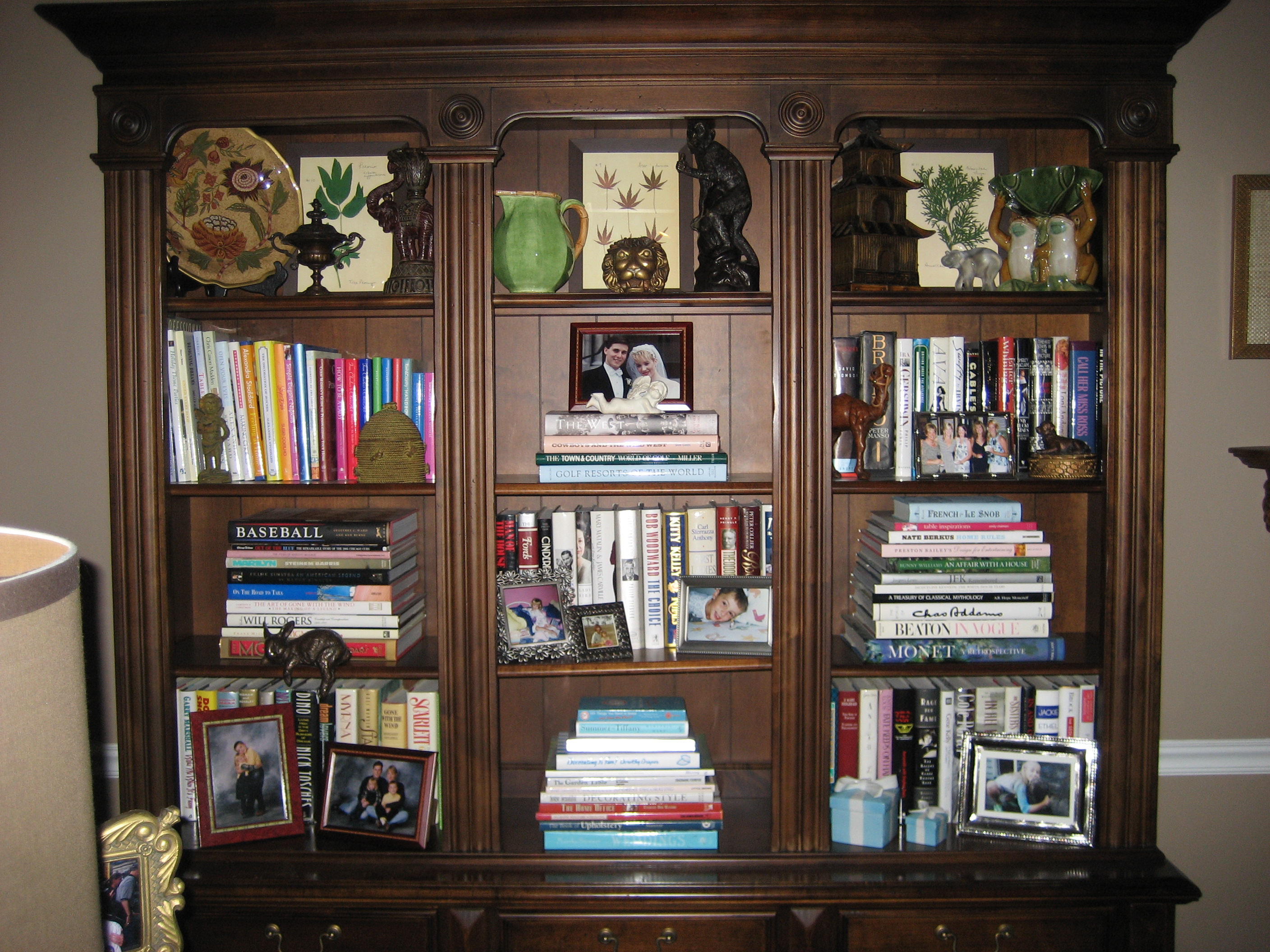 The Art Of Arranging A Bookshelf More Is More Mom