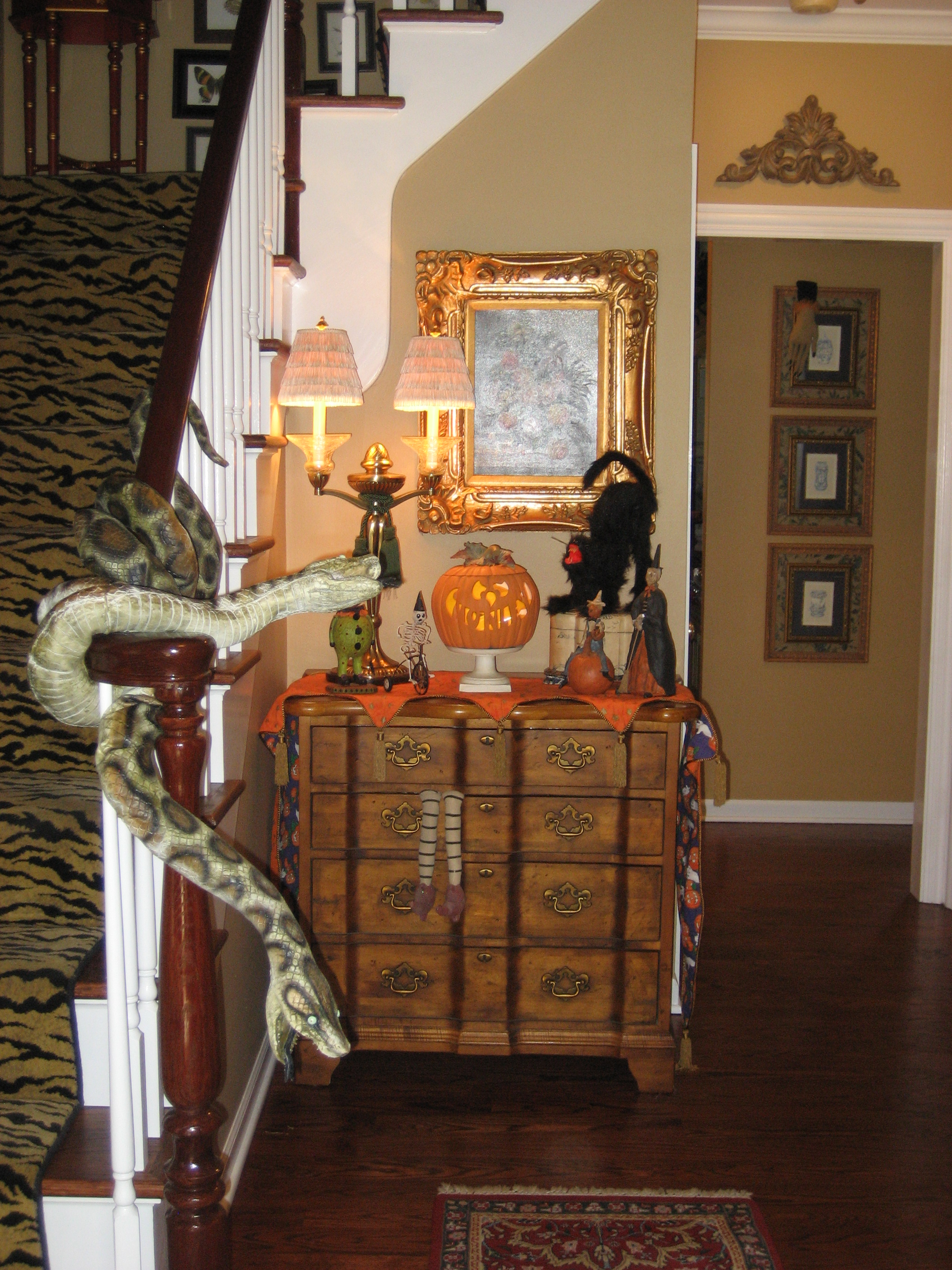 Halloween Vignettes More is More Mom