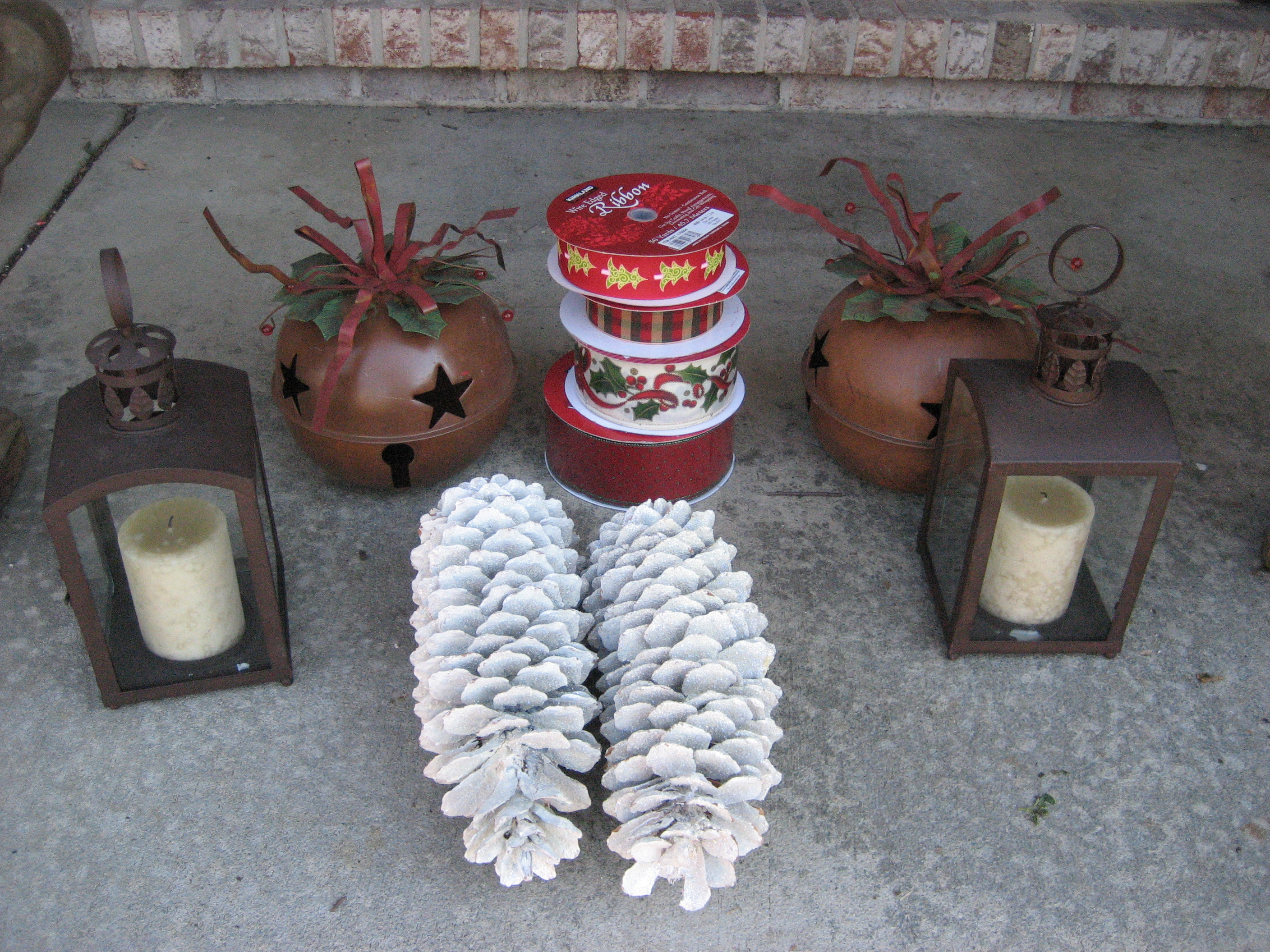 Gorgeous do it yourself winter urns more is more mom whimsical winter items solutioingenieria Gallery