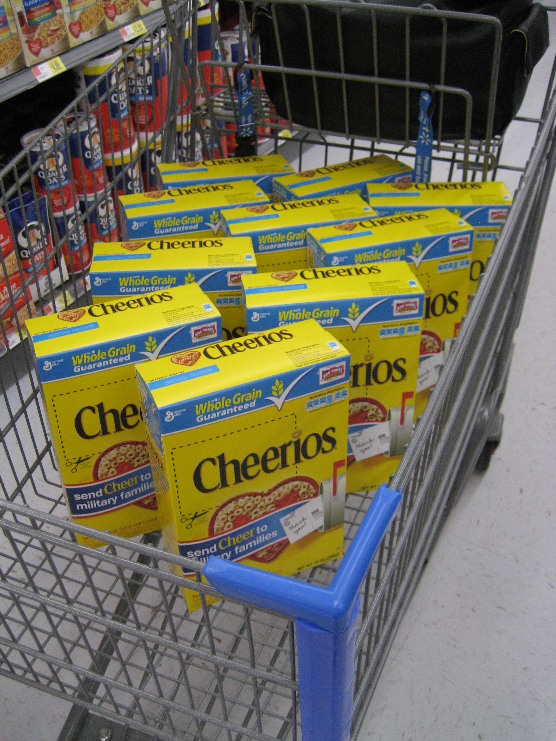 Sending More Cheer to Military Families With the Help of #Cheerios ...