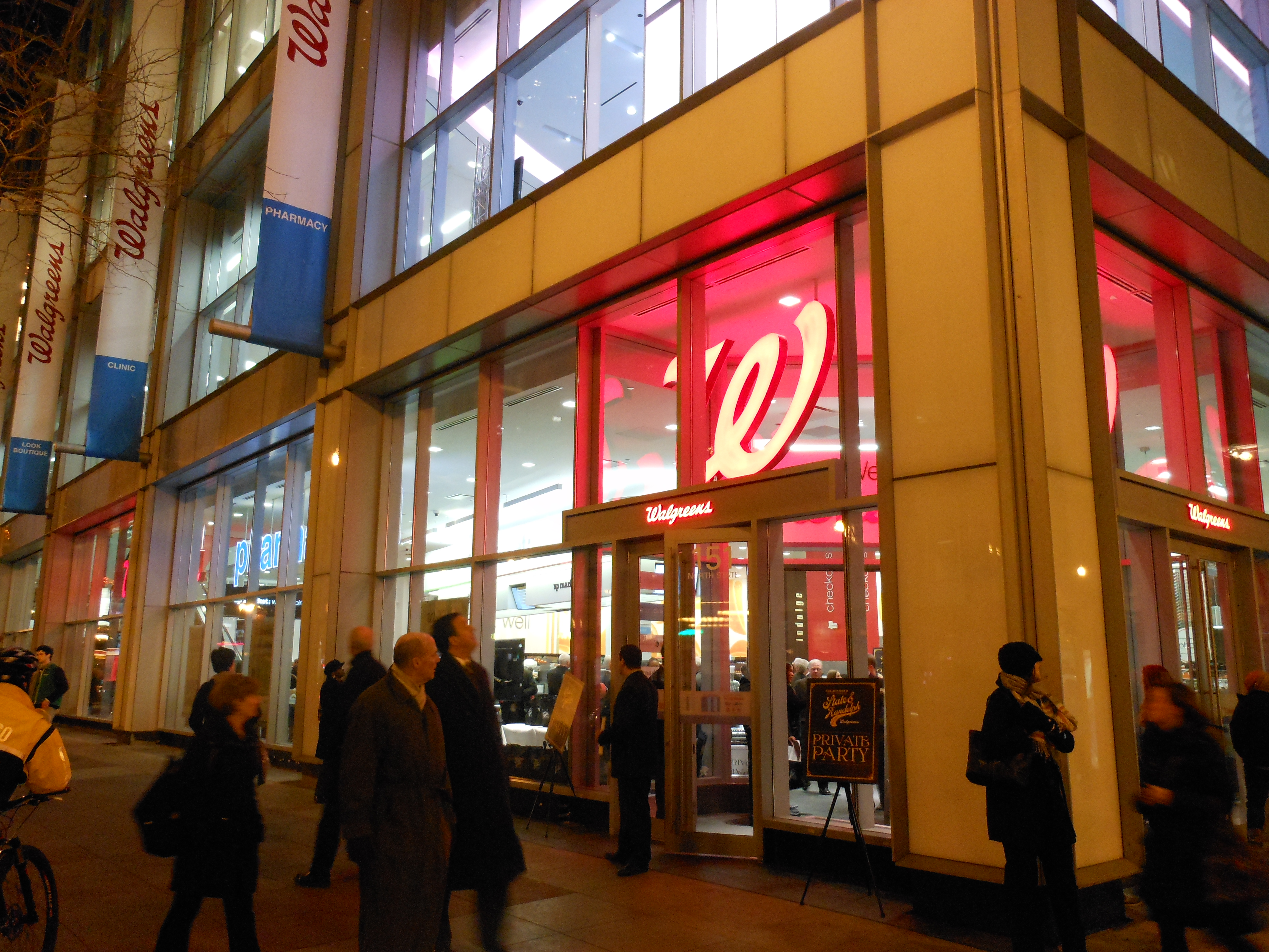 State & Randolph: Walgreens Grand Opening Party! | More is ...