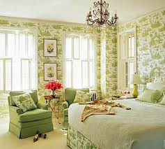 Traditional Toile Bedroom