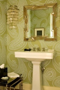 Paisley Powder Room